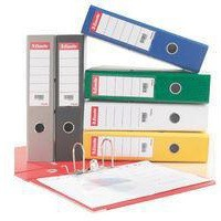 Esselte No. 1 Power Mini Lever Arch File PP Slotted 50mm Spine A4 Green Ref 811460 [Pack 10]