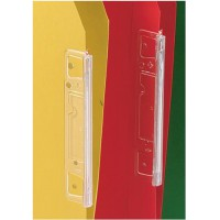 Image for Esselte Visicontrol Tabs Clear (for Orgarex Lateral Files) Ref 90600-R1 [Pack 25]