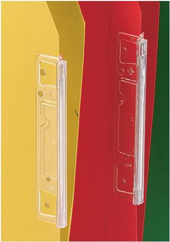Esselte Visicontrol Tabs Clear (for Orgarex Lateral Files) Ref 90600-R1 [Pack 25]