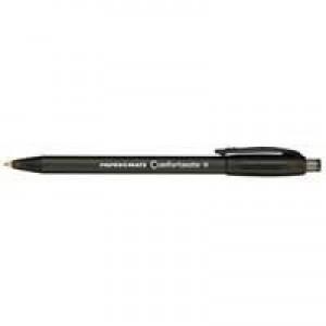 PaperMate Comfortmate Fresh Retractable Ballpoint Pen Black P2871101 S0512260