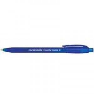 PaperMate Comfortmate Fresh Retractable Ballpoint Pen Blue P2873101 S0512280