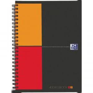 Oxford International Address Book A5 A-Z Polypropylene Wirebound 160 Pages 90gsm Code 100103165