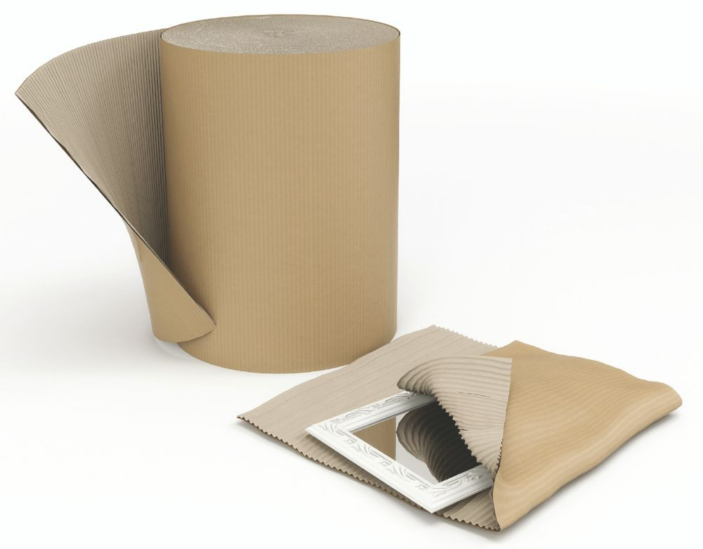 Single Faced Corrugated Roll 300mm x 75m