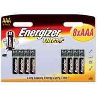 Energizer UltraPlus Battery Alkaline LR03 1.5V AAA Ref 637462 [Pack 8]