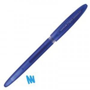 Uni-ball UM170 SigNo Gelstick Rollerball Pen 0.7mm Tip 0.4mm Line Blue Ref 735290000 [Pack 12]