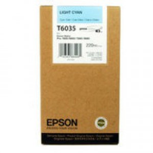 Epson T6035 Light Cyan Ink Cartridge