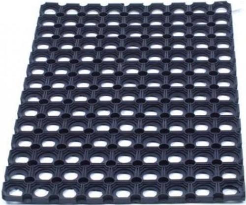 Door Mat Indoor and Outdoor Rubber 800x1200mm Black