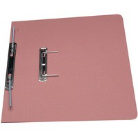 Guildhall Transfer Spring Files 315gsm Capacity 38mm Foolscap Pink Ref 348-PNKZ [Pack 50]