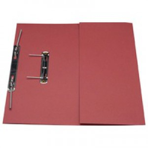 Guildhall Transfer Spring Files with Inside Pocket 315gsm 38mm Foolscap Red Ref 349-REDZ [Pack 25]