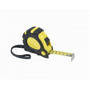 Linex Measuring Tape With Hook And Non-Slip Surface Metric And Imperial With Belt Clip 5m LXEMT5000