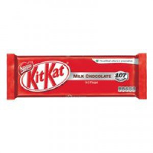 Nestle Kit Kat Chocolate Bars 2 Finger Bars Ref 12097518 [Pack 8]