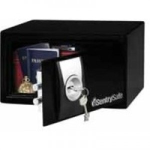 Sentry X031 Security Safe Key Lock 4mm Door 2mm Walls 9.9 Litre 7.5kg W290xD264xH167mm Ref X031