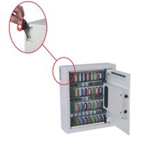 Phoenix KS0032 Key Safe Electronic with Fixings Keyrings and Tags 48 Key 9kg W300xD100xH365mm Ref KS0032