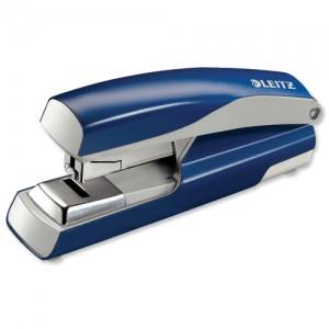 Leitz Flatclinch Stapler Blue 55230035
