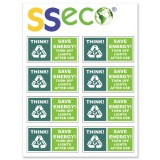 SSeco Light Stickers 46x23mm Pk8 ENV03