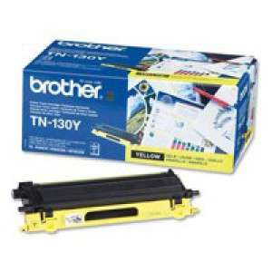 Brother Laser Toner Cartridge Page Life 1500pp Yellow Ref TN130Y