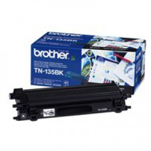 Brother Laser Toner Cartridge Page Life 5000pp Black Ref TN135BK