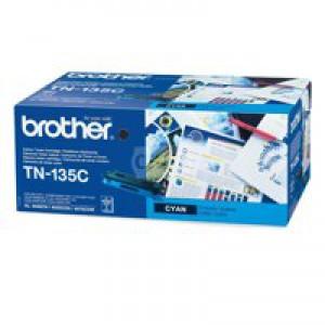 Brother Laser Toner High Yield Cartridge Cyan Code TN-135C