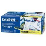 Brother Laser Toner High Yield Cartridge Yellow Code TN-135Y
