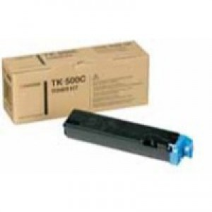 Kyocera FS-C5016N Toner Cartridge 8000 Pages Cyan TK-500C