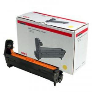 Oki C5000 Series Drum Unit Yellow 42126605