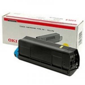 Oki C5000 Series Toner Cartridge Yellow 42127405