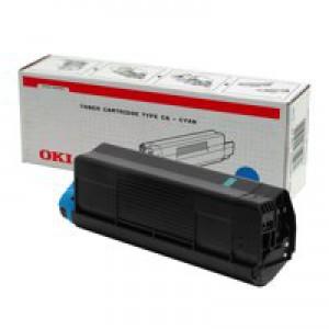 Oki C5000 Series Toner Cartridge Cyan 42127407