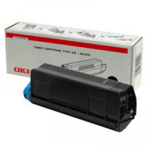 Oki C5000 Series Toner Cartridge Black 42127408