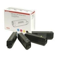 Oki C5100/5200/5300/5400 Toner Rainbow Pack 42403002