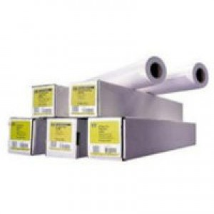 Hewlett Packard Coated Paper 914mm x91.4 Metres Roll 90gsm C6980A
