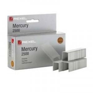 Rexel Mercury Staples Heavy Duty Ref 2100928 [Pack 2500]
