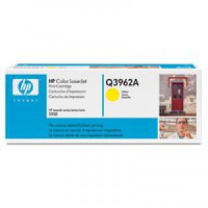 Hewlett Packard [HP] No. 122A Laser Toner Cartridge Page Life 4000pp Yellow Ref Q3962A