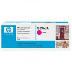 Hewlett Packard [HP] No. 122A Laser Toner Cartridge Page Life 4000pp Magenta Ref Q3963A