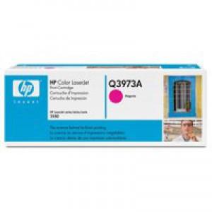 Hewlett Packard [HP] No. 123A Laser Toner Cartridge Page Life 2000pp Magenta Ref Q3973A