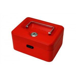 Cash Box 6in Red