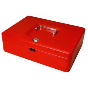 Cash Box 12in Red