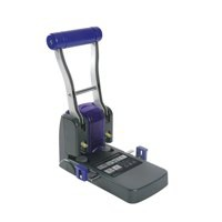 Rapesco 1100 Punch Heavy-duty 2-Hole Capacity 100x 80gsm Black Ref 0247