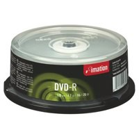 Image for Imation DVD-R 4.7Gb 16X Spindle Pack of 25 i21979