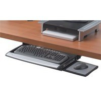 Fellowes Office Suites Deluxe Keyboard Manager Height-adjustable and Movable Mouse Tray Ref 8031201
