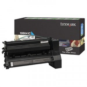 Lexmark C750 Return Programme Toner Cartridge Cyan 6K Yield 10B041C