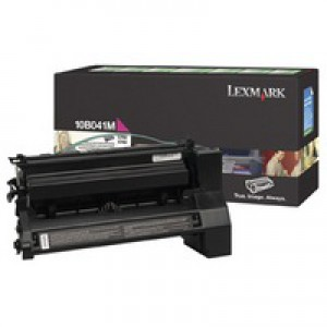 Lexmark C750 Return Programme Toner Cartridge Magenta 6K Yield 10B041M