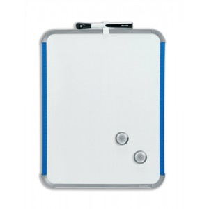 Nobo SlimLine Drywipe Board Magnetic with Pen and Eraser Code QB05142AS