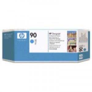 Hewlett Packard No90 Print Head And Cleaner Cyan C5055A