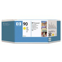 Hewlett Packard [HP] No. 90 Inkjet Cartridge 400ml Yellow Ref C5065A