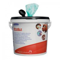 Image for Wypall Kimtuf Hand Cleaning Wipes Bucket Ref 7775 [Pack 90]