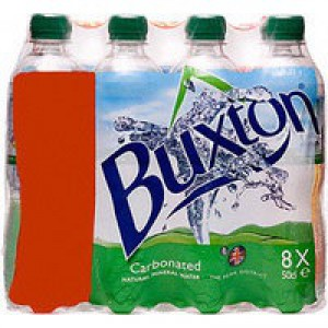 Buxton Natural Mineral Water Bottle Plastic 500ml Still Ref A01708 [Pack 24]