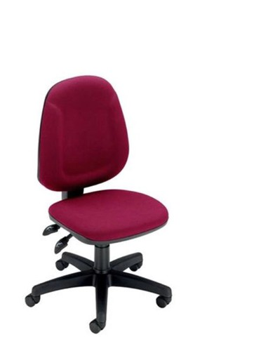 Trexus Plus High Back Chair Asynchronous Seat W460xD450xH460-590mm Back H510mm Burgundy
