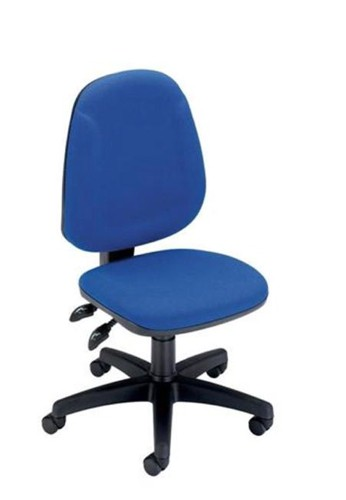Trexus Plus High Back Chair Permanent Contact W460xD450xH460-590mm Backrest H510mm Blue