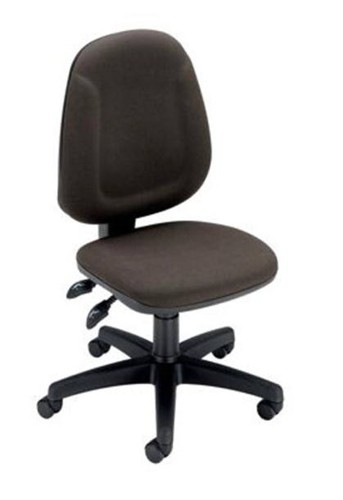 Trexus Plus High Back Chair Permanent Contact W460xD450xH460-590mm Backrest H510mm Charcoal