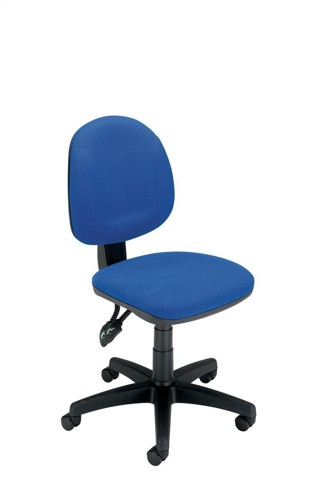 Trexus Plus Medium Back Chair Permanent Contact W460xD450xH480-590mm Back H400mm Blue